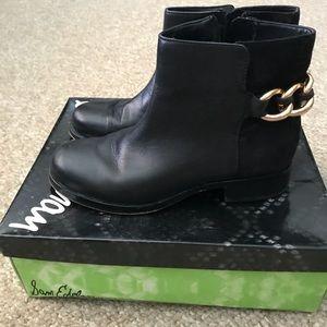 1b3c64e2fea6e9 Sam Edelman Shoes - Sam Edelman Chester Chain Booties